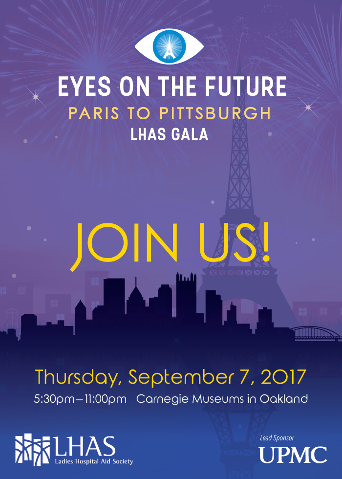 "This year LHAS will be hosting ""Eyes on the Future, Paris to Pittsburgh"" a Gala to honor and to support Dr. José-Alain Sahel, MD, the Eye & Ear Foundation ..."